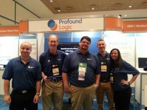 Profound Logic Software Team at COMMON 2014