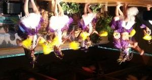 Hula dancers heat up the night at COMMON 2014 in Orlando, FL