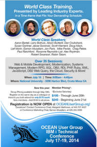 Register for the OCEAN 2014 User Conference today!