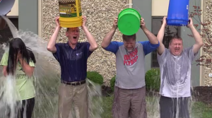 The Profound Logic team steps up to the ALS Ice Bucket Challenge!