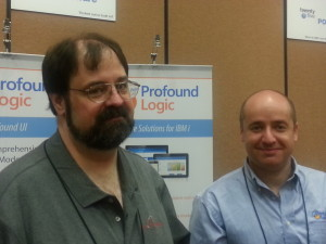 Scott Klement and Alex Roytman at the 2014 RPG & DB2 Summit in Dallas