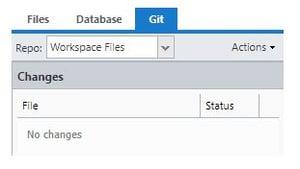 Git workspace fiiles
