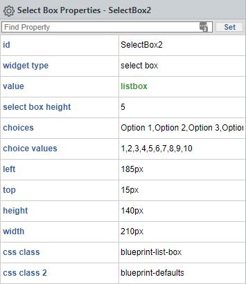 List box 1