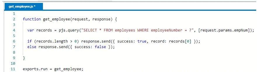 details web service code